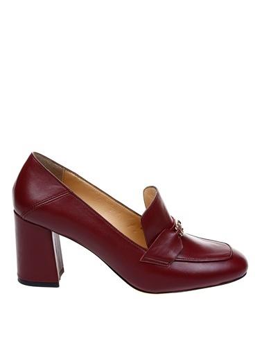 Fabrika Topuklu Ayakkabı Bordo